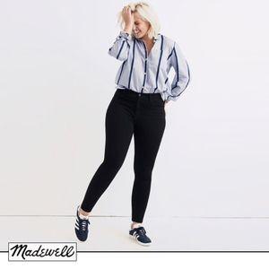 Madewell Roadtripper Jeans in Bennett Black 36